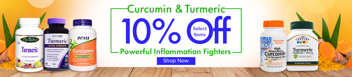 IHERB Save 10% on select Curcumin items